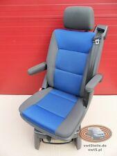 VW T5 Drehsitz Multivan Sitze Sitz Anthrazit Blau