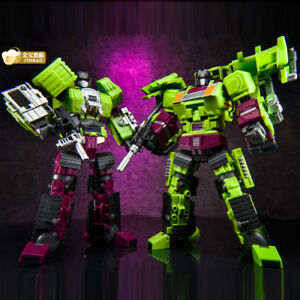 Jinbao Devastator Terrassier & Bulldozer Scavenger Bonecrusher série A