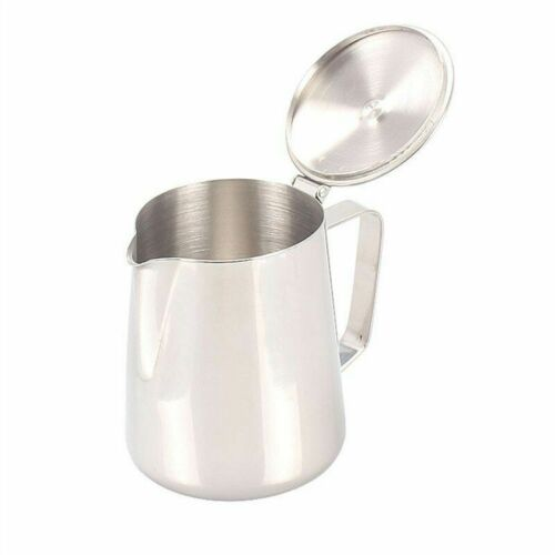 Frothing Milk Pots Stainless Steel Jugs Coffee Latte Pitcher Kitchenware Teapots