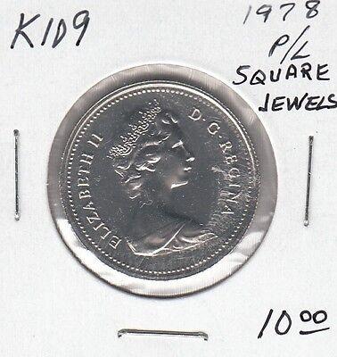 E215 CANADA 1c 1 CENT COIN 1977 PROOF-LIKE GRADE
