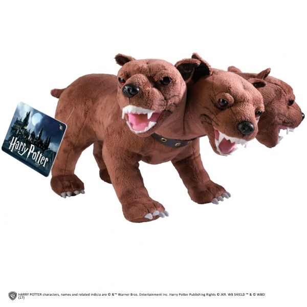 "Original Harry Potter 3-köpfiger Wachhund ""Fluffy"" : Plüsch Hund 30cm"
