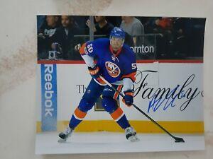 Adam-Pelech-Signed-New-York-Islanders-8x10-Photo-Autographed