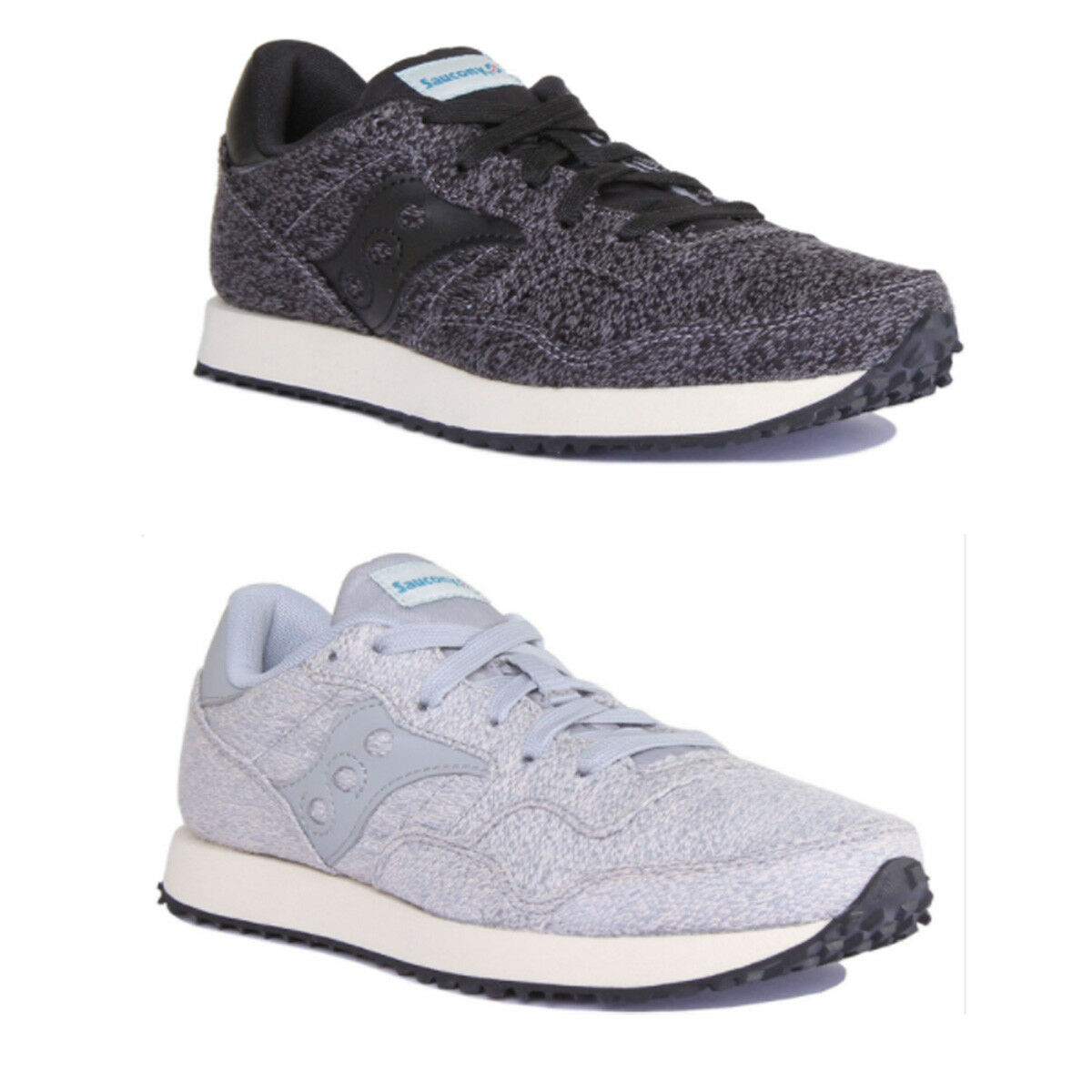 Saucony DXN CL Knit Women Other Fabric Black Trainers