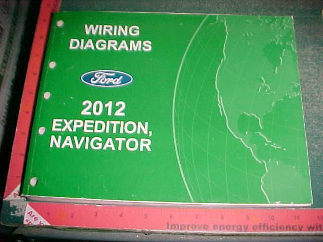 2012 Ford Expedition Lincoln Navigator Wiring Diagrams Manual Excellent