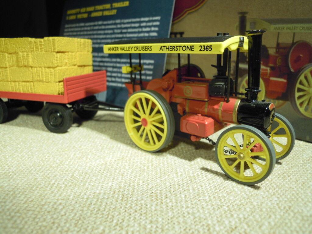 Corgi 80307  Garrett Road Tractor & wohnungbed Trailer  Anker Valley , NEU & OVP