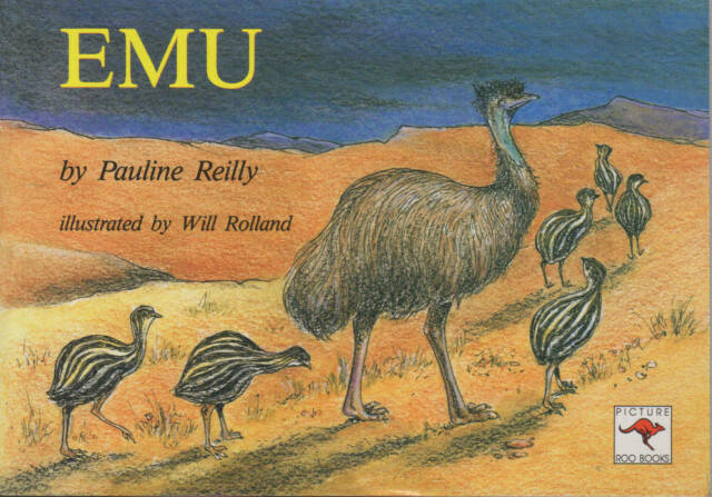 Emu Picture Roo Pauline Reilly Illus Will Rolland Kangaroo Press Revised Ed NEW