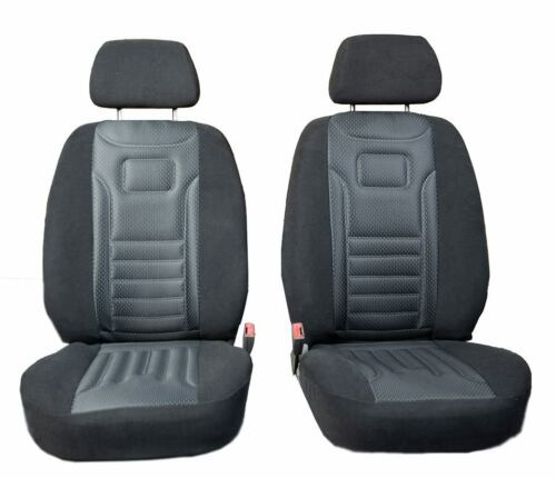 Vordersitzbezüge Stripes gris auto referencias asiento ya referencias universal VW Polo