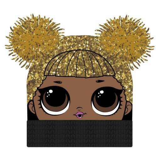 Mütze Winter LOL Surprise Kopfbedeckung Wintermütze Bommel