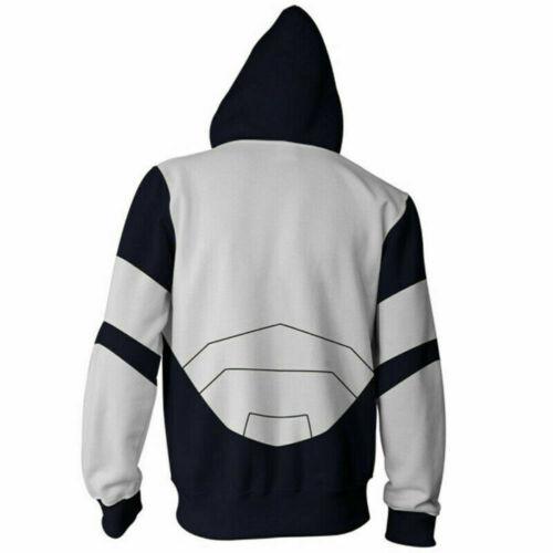 Anime My Hero Academia Hoodie Sweatshirt Iida Tenya Cosplay Costume Jacket Coat