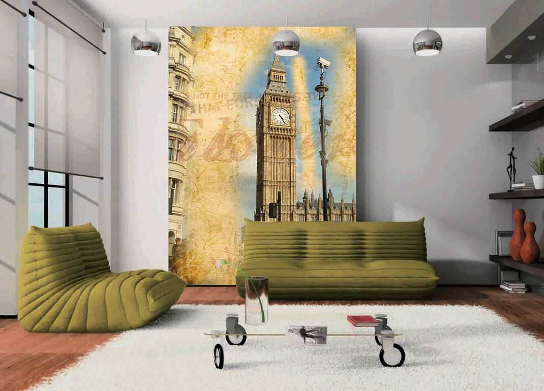 3D Sky Big Bell 778 Wallpaper Mural Paper Wall Print Wallpaper Murals UK