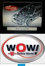 Diagnose DELPHI VERSION 2015R1 SOFTWARE DVD DS + WOW WÜRTH VERSION 5.00.8