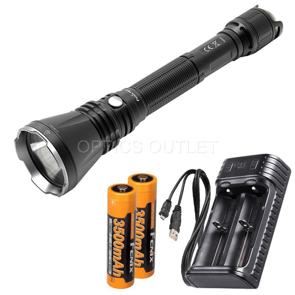 Fenix TK47 1300 Lumen Neutral White LED Flashlight w  2x 3500mAh 18650 & Charger