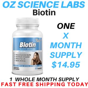 Biotin-Capsules-10-000mcg-Maximum-Strength-Hair-Skin-Nails-Hair-Loss-AUST