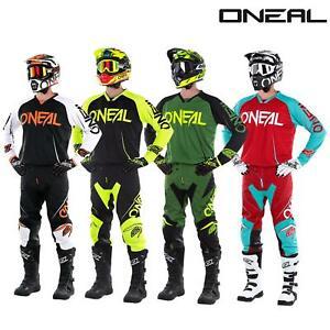 O-039-neal-Mayhem-Lite-Jersey-pantalones-combo-bloqueador-motocross-MX-quad-todoterreno-MTB-DH