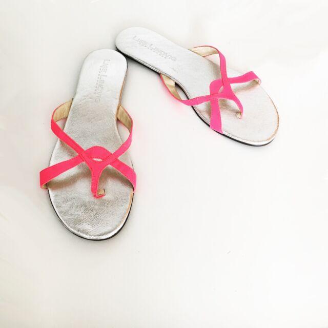LISE LINDVIG · Sandals Pink Fluor [ EU 40 ]