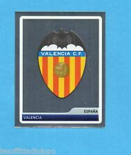PANINI-CHAMPIONS 2006/2007-Figurina n.22-SCUDETTO/BADGE-VALENCIA-NEW BLACK BACK