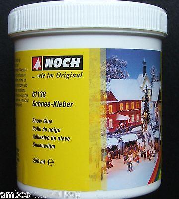 (27,56€/l) NOCH 61138 Schnee-Kleber, 250ml in der Dose, Neu