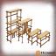 TTCombat-BNIB-Wood-Scaffolding-TTSCW-SOV-092 thumbnail 1