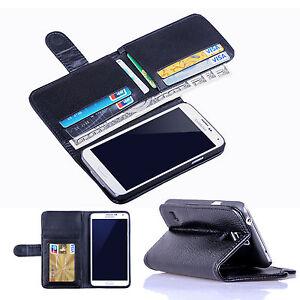 Porta-Scheda-Custodia-Flip-In-Pelle-A-Portafoglio-Per-Samsung-Galaxy-S6-Edge