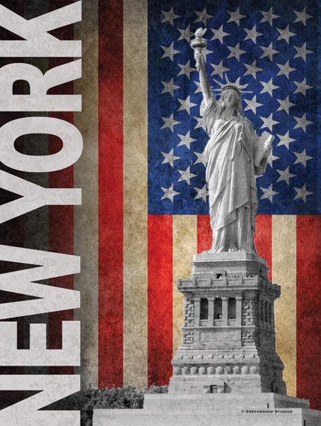 Todd Williams  New York barella-immagine Schermo Schermo Schermo Statua della Libertà f448ef