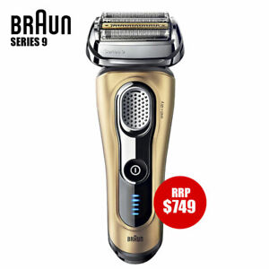 Braun-Series-9-Electric-Shaver-only-Wet-amp-Dry-Precision-Trimmer-Recharge-GOLD