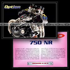 HONDA NR 750 : Son moteur V4 - Motorcycle Fiche Moto #OM6.3