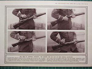 Cartuchos 1915i Su Estampado Mauser Puntas Clip amp; Guerra Cinco Mundial The Ww1 HPxpwABHq