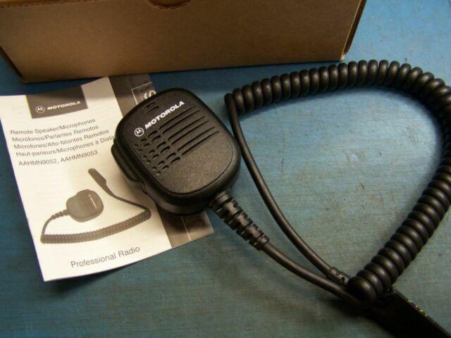 6 Motorola HMN9053 Remote Speaker Mic  HT1250 HT750 HMN9052 Used Tested