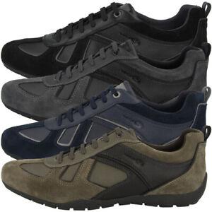 Details zu GEOX U Ravex D Schuhe Men Herren Low Cut Sneaker Freizeit Halbschuh U923FD022BUC