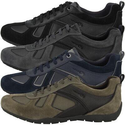 GEOX U Ravex D Schuhe Men Herren Low Cut Sneaker Freizeit Halbschuh U923FD022BUC | eBay