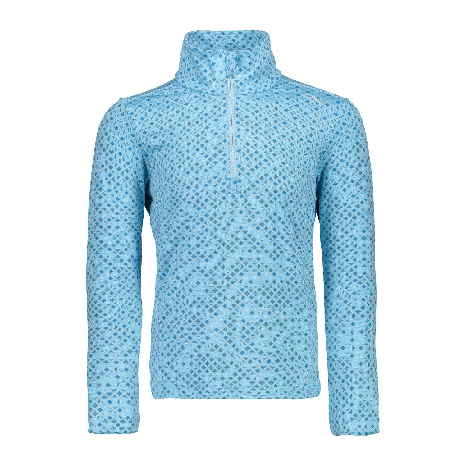 CMP Sudadera de Polar Suéter Girl Sweat Impreso blue Transpirable