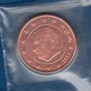Belgique-2005-5-centimes-d-039-euro-FDC-provenant-coffret-BU-38012-exemplaires