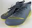 miniature 1 - Nike Junior SUPERFLY 6 Elite FG Football Crampons (taille 5Y) gris foncé AH7340-070 NEUF