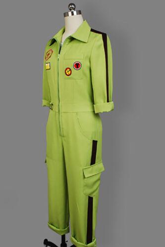 Danganronpa Dangan-Ronpa 2 Kazuichi Soda Souda Halloween Cosplay Costume c