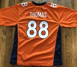 best authentic 6ea8b a4439 Details about NEW Denver Broncos Jersey #88 Demaryius Thomas Youth Large  14/16 NFL Players $80