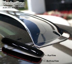 Outside Mount Rain Guards Visor Sun roof Combo 5pc For Toyota Sienna 2011-2016