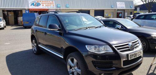 CROSS BAR NOT INC VW TOUAREG ALUMINIUM ROOF RAIL BARS RACKS SET BLACK 2002-2009