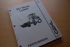 Gehl 521 Front End Wheel Loader Parts Catalog Manual Mini Rubber Tire Pay List