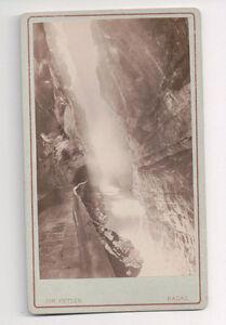 Vintage-CDV-Tamina-Gorge-Pfafers-Switzerland-Joh-Fetzer-Photo-Ragaz