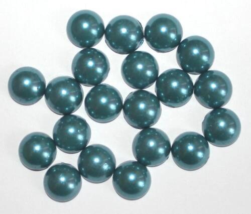 Cabochon environ 12 et 10 MM MULTICOLORES bijoux pierre perleffekt environ Acrylique Bijoux Neuf