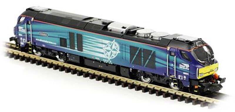 Dapol Class 68 001 Evolution DRS N Gauge DA2D-022-007