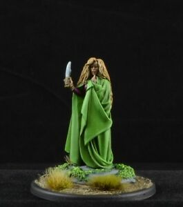 Painted-Early-Snow-Female-Witch-from-Dark-Sword-Miniatures-mage-D-amp-D