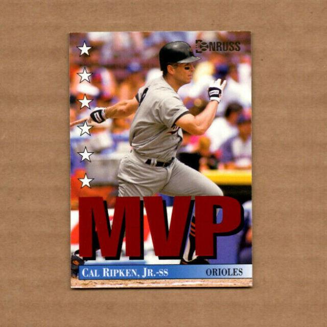 1994 Donruss Mvps  15 Cal Ripken Baltimore Orioles Free Shipping