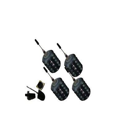 4 Pcs Ink Cartridge Black Refill Kits for Canon Printer