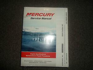Mercury 250xs optimax Manual