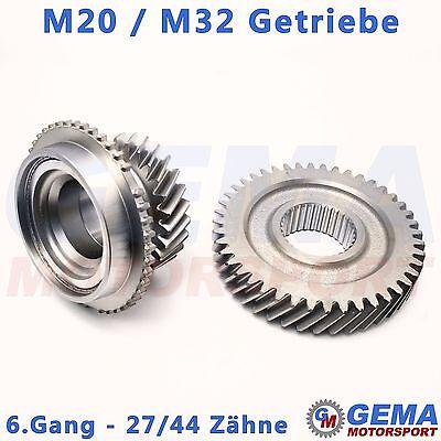 Gangrad-Satz 27/44 Zähne 6. Gang Opel M32 M20 Getriebe Losrad Zahnrad Ritzel
