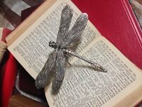 Zodax Decorative Dragonfly Sculpture Gift Tabletop Halloween