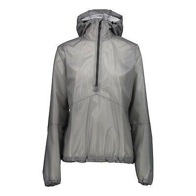 Funzione Cmp Giacca Giacca Woman Jacket Fix Hood Grigio Impermeabile Traspirante-mostra Il Titolo Originale