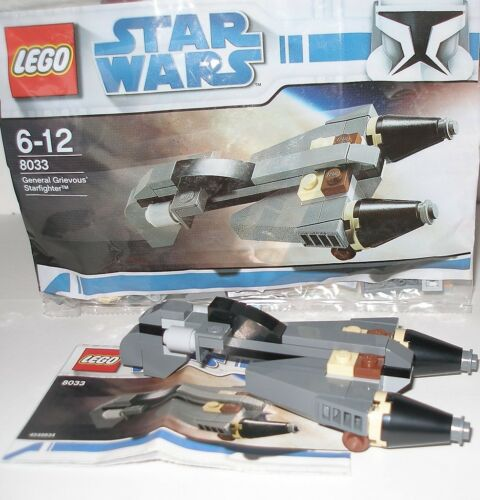 Lego 8033 Star Wars General Gievous Starfighter OVP