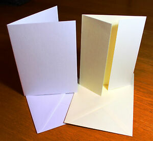 A6 Card Blanks Envelopes Wedding Invitations Card Making Craft